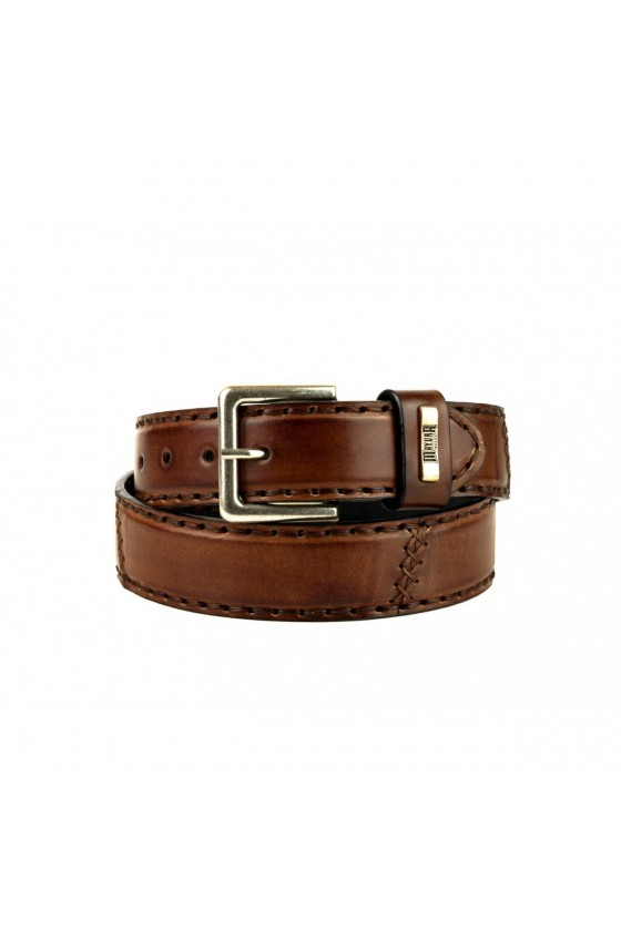 LEATHER BELT M-925 (castana)