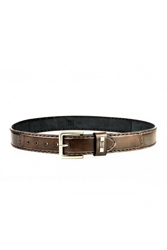 LEATHER BELT M-925 (brown)