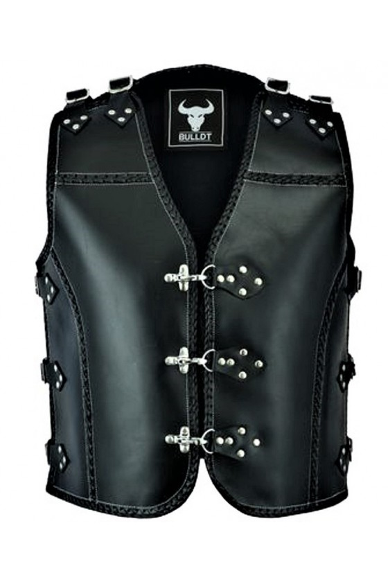 SHOULDER AND SIDE ADJUSTABLE VEST (black)