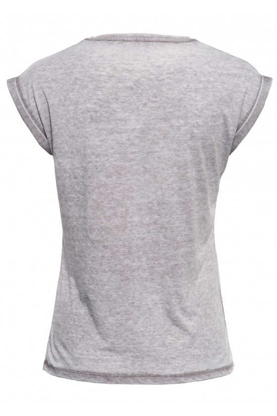 ROLL-UP T-SHIRT ALIVE FREE (anthracite)