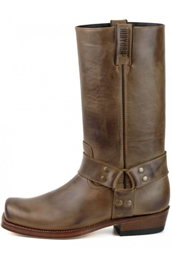 NR.1 LEATHER BOOTS (brown)