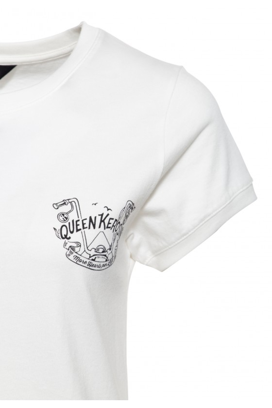T-SHIRT MORE HEARTS PER LIFE (off-white)