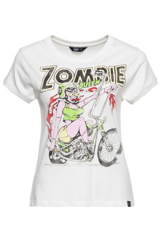 SUPER COOL T-SHIRT ZOMBIE (off-white)