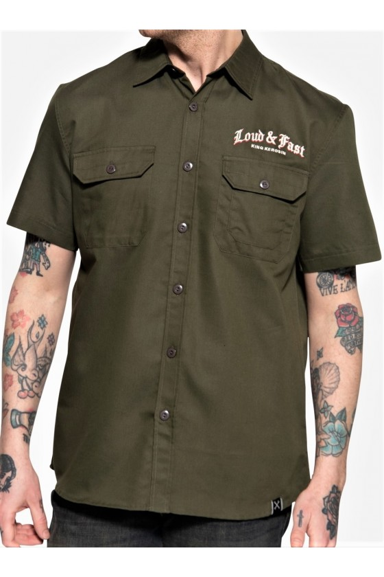 WORKWEAR SHIRT RED BARON (olive)