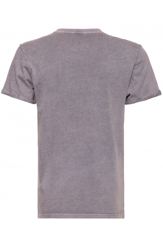 ROLL-UP T-SHIRT ROAD RUNNERS (steel grey)