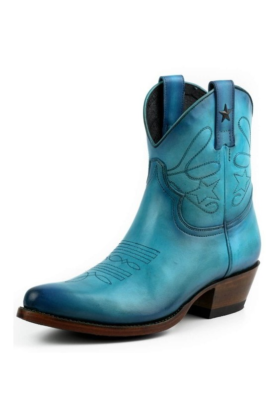 WOMEN'S BOOTS STAR (vintage turquoise)