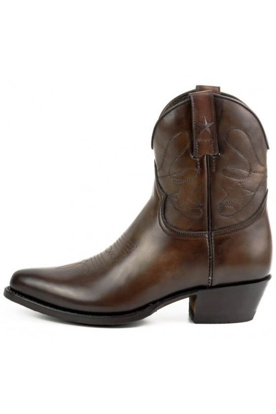 WOMEN'S BOOTS STAR (vintage MARRÓN TESTA)