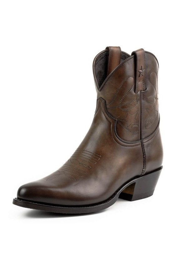 WOMEN'S BOOTS STAR (vintage brown testa)
