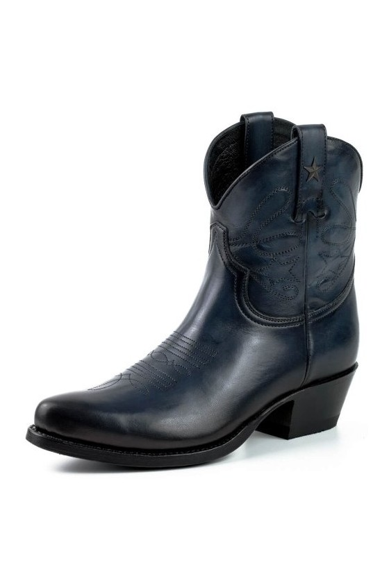WOMEN'S BOOTS STAR (vintage navy blue)