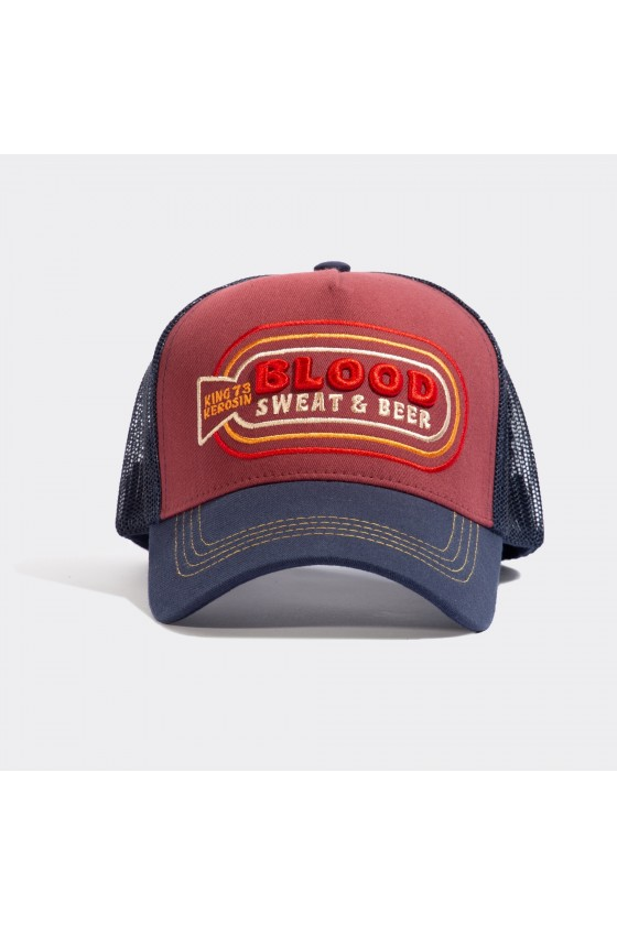 TRUCKER CAP BLOOD