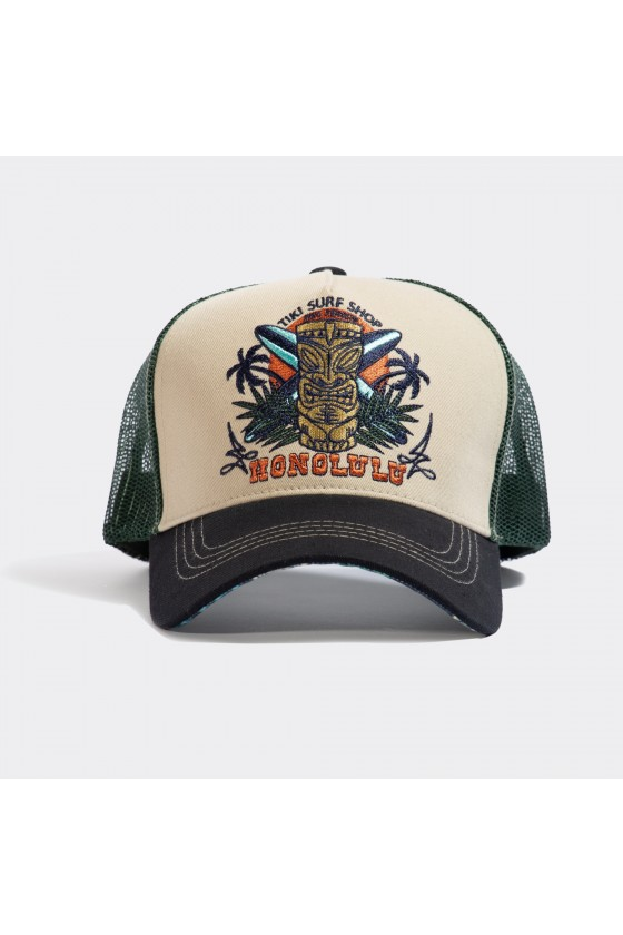 TRUCKER CAP HONOLULU (beige)