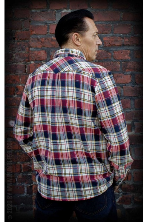 FLANNEL SHIRT HEY PORTER (checked)