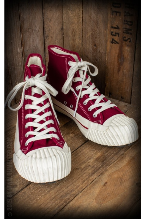 SNEAKERS BURNOUT (red)