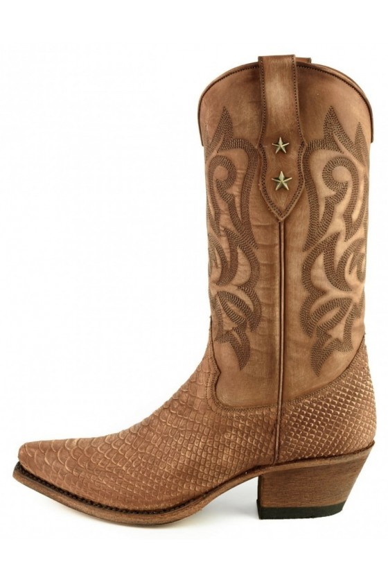 Women's Boots Alabama (washed cognac)