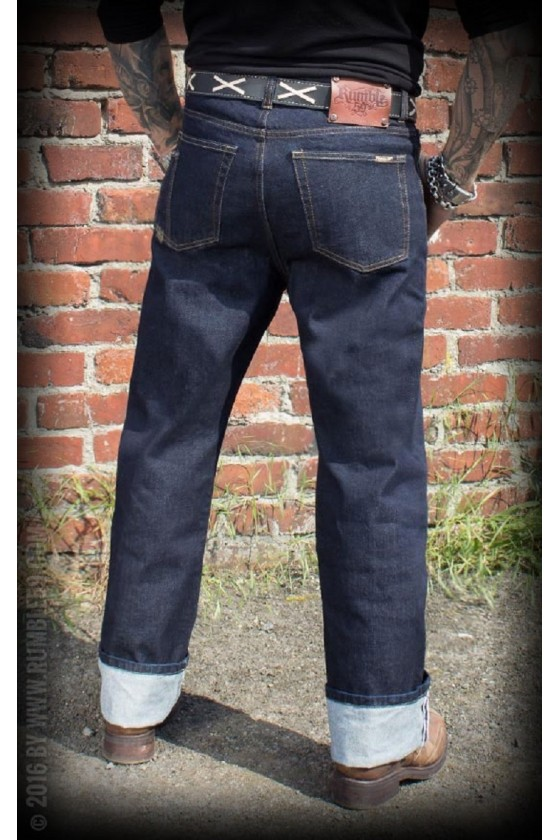 JEANS GREASERS GOLD (blue)