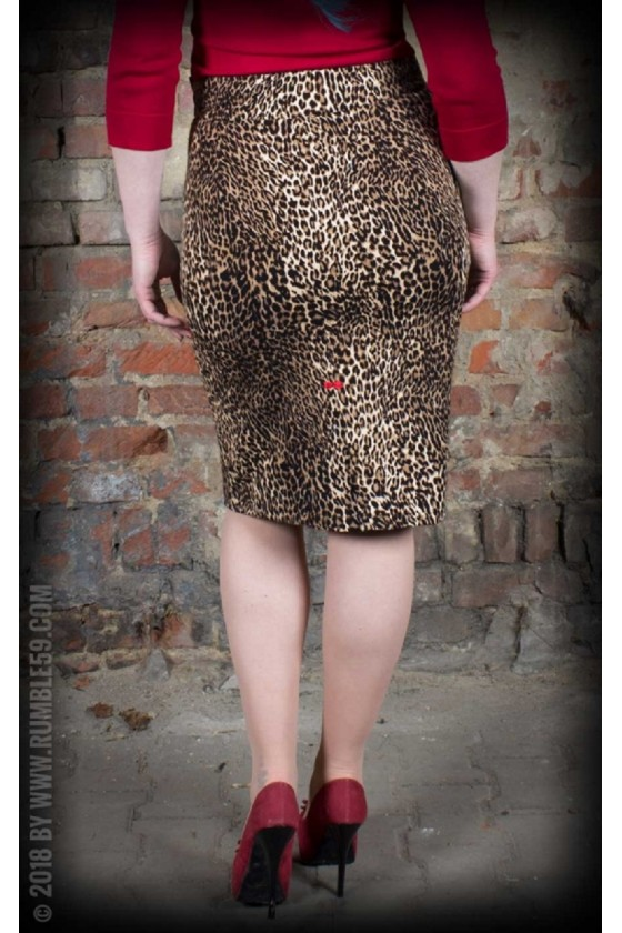 PENCIL SKIRT THE WILD ONE (leopard)