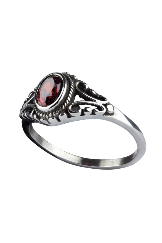 RING ORNAMENT RED