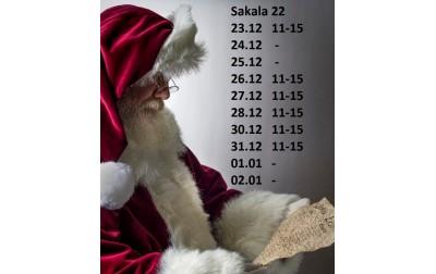 Jõuluaja Kellaajad